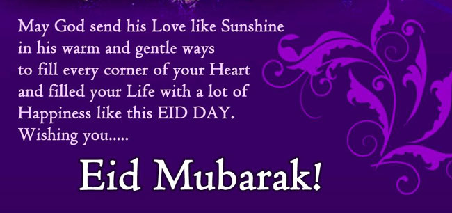 eid mubarak greetings messages