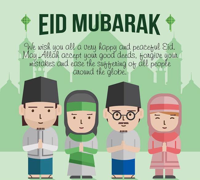 Happy eid mubarak quotes 2018 eid mubarak quotes wishes m4hsunfo