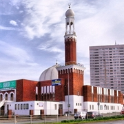 Birmingham Central Mosque in England