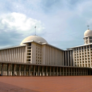 Istiqlal Mosque Jakarta, Indonesia