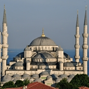 Sultan Ahmed Mosque in Istanbul - Turkey